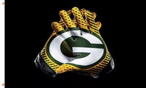 Green Bay Packers Gloves football Memorable flag 90x150cm3x5ft best banner