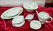 Craftsman Crf3 Dinnerware 10 Serving pieces Covered Vegetable Bowl, Platters, +