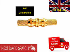 DIGITAL TV EXTENSION CABLE F CONNECTOR+COAXIAL COUPLER SATELLITE FREEVIEW JOINER