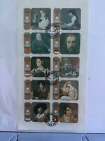 Sharjah Sapporo Winners  cancelled  stamps sheet  R27573