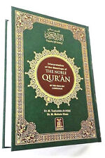 The Noble Quran Arabic Text with English Translation - Large - HB - White Pages