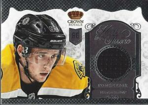 2013-14 Crown Royale Heirs to the Throne Materials #HTRSP Ryan Spooner Jersey