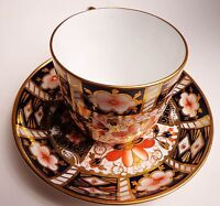 Royal Crown Derby Traditional Imari 1939 Cup and Saucer