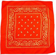 Écharpes et châles orange avec des motifs Cachemire pour femme