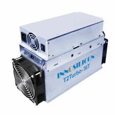 New Innosilicon T2T 30Th/s BTC ASIC Miner Machine 2200W Crypto Miner Include PSU
