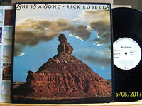 Rick Roberts - She is a Song - orig. 1973 US A&M SP-4404  LP m-/ Promo / OIS