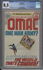 OMAC #1 - CGC 8.5 - ORIGIN AND 1ST APPEARANCE OF OMAC - 3816730007