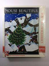 Jigsaw Puzzle 1000 Piece House Beautiful Christmas Village 1929 New York Co.