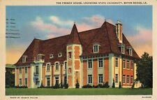 Postcard French House Louisiana State University Baton Rouge LA