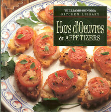Williams-Sonoma Kitchen Library - Hors d'Oeuvres and Appetizers, HB