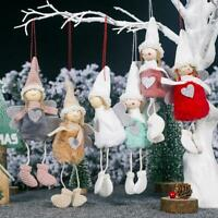 Christmas Angel Plush Doll Christmas Tree Plush Pendants Ornaments Home Decor