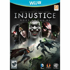 Injustice: Gods Among Us  (Wii, 2013) OPEN BOX EXCELLENT CONDITION