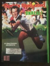JOHN MCENROE - SPORTS ILLUSTRATED - SEPTEMBER 17, 1984