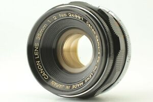 【 AS IS for Repair 】 Canon 35mm F/2 Leica Screw Mount L39 LTM MF Lens Japan #439