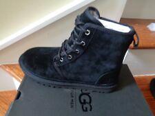UGG Australia Harkley Men's Black Boots, 1016472 Size 9 NWB