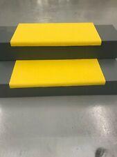 Anti-Slip GRP Heavy Duty Stair Tread Cover yellow 680 x 335 x 30mm Steps Decking