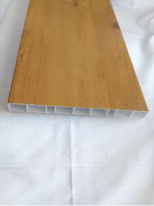 1A Balkonlatte Balkonverkleidung Balkonbrett Astfichte 200x20x1mm Kunststoff PVC
