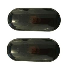 Smoked Black Oval Side Repeater Indicator Set Pair VW SEAT FORD EAP™