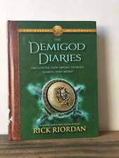 The Demigod Diaries by Rick Riordan (2012, Hardcover) First Edition