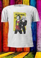 Never Mind Punk Rock Sid and Nancy Music Festivals Men Women Unisex T-shirt 960