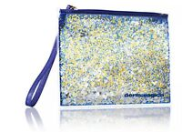Dermalogica glitter pouch/makeup accesory bag with zipper 2 pack