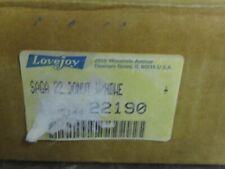 "LOVEJOY 22190 SIZE S-22 SAGA COUPLING DONUT  7.31"" O.D"