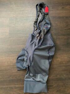 Castelli Free Aero Race 4 Bibs Shorts X2 Progetto Small Blue Grey Summer