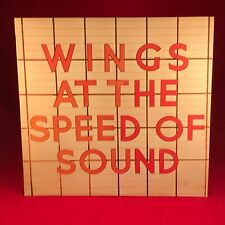 Wings At The Speed Of Sound 1976 GB Vinyle LP+Inner Excellent Paul Mccartney D