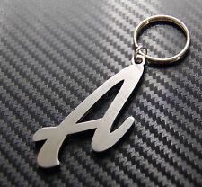 A Letter Alphabet Name Keyring Keychain Key Fob Bespoke Stainless Steel Gift