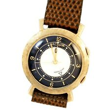 LECOULTRE MEMOVOX DRESS WATCH CA1960S | TWO TONE DIAL, 17 JEWEL MANUAL WIND