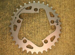Retro Oldschool NOS NEW blackspire mountainbike chainring 34 teeth 94 BCD