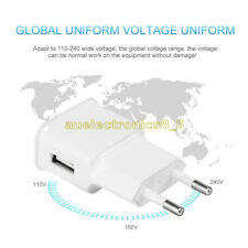 EU Plug 5V 2A USB 1 Port Wall Charger Fast Charging Travel Power Adaptor