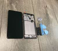 Replacement OEM Huawei Mate 20 HMA-L29 Black LCD Screen Touch Digitizer + Frame