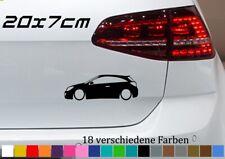 Aufkleber OPEL Astra Silhouette 20x7cm OPC H Low Decal Sticker Autokleber JDM