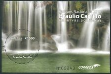 COSTA RICA 2013 Wasserfall Nationalpark Water Fall Block ** MNH