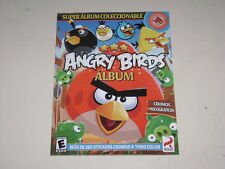 Album Angry Birds - Editorial Ed Sac 2013 -100% Completo