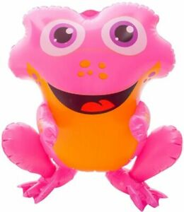 """24"""" Pink Rain forest Frog Inflatable - Baby Inflate Blow Up Toy Party Decoration"""