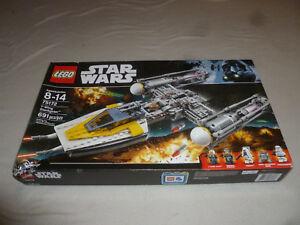 NEW IN BOX LEGO STAR WARS SET Y-WING STARFIGHTER 75172 DISNEY NIB PILOT MOROFF >