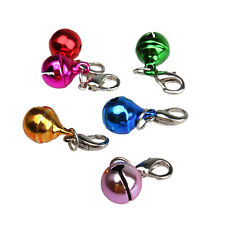 Colorful Pet Puppy Dog Kitten Cat Collar Animal Buckle Jingle Bell Accessories