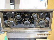 Bakelite Front 1926 Freed-Eisemann Dry Cell Wood Tabletop Box TUBE RADIO Model 1