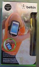 "Belkin Storage Plus Armband Case for 5.5"" Smartphones  Black  (B1)"
