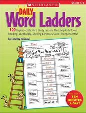 Daily Word Ladders Grades 4-6 Some Signs Of Water