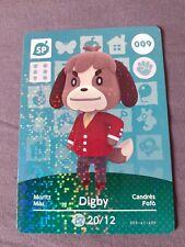 Animal Crossing Amiibo Card 009 Digby