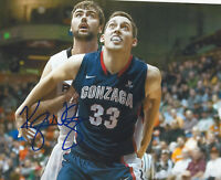 KYlE WILTJER SIGNED AUTHENTIC GONZAGA BULLDOGS 8X10 PHOTO w/COA TEAM CANADA