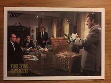 James Bond Spectre Edition 2016 Living Daylights Parallel Gold Card 15 089/125