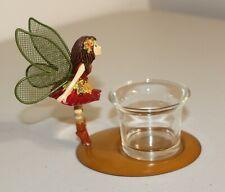 Figi Autumn Fairy Votive Candle Holder Fairy Figurine