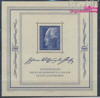 Sowjetische Zone (All.Bes.) Block6 postfrisch 1949 Goethe (8517074