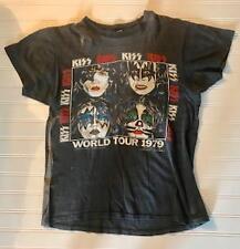 KISS 1979 GENE SIMMONS World Tour T Shirt Tee Shirt ORIGINAL SUPER Rare!