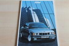100489) BMW 5er Reihe E34 524td Prospekt 02/1988
