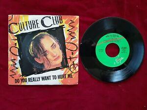 CULTURE CLUB  DO YOU REALLY WANT TO HURT ME  45 GIRI dischi ricordi